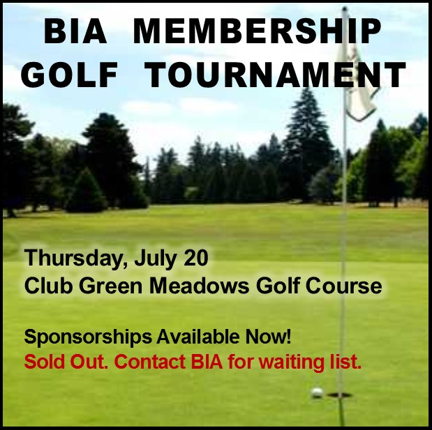 BIA Membership Golf Tourney