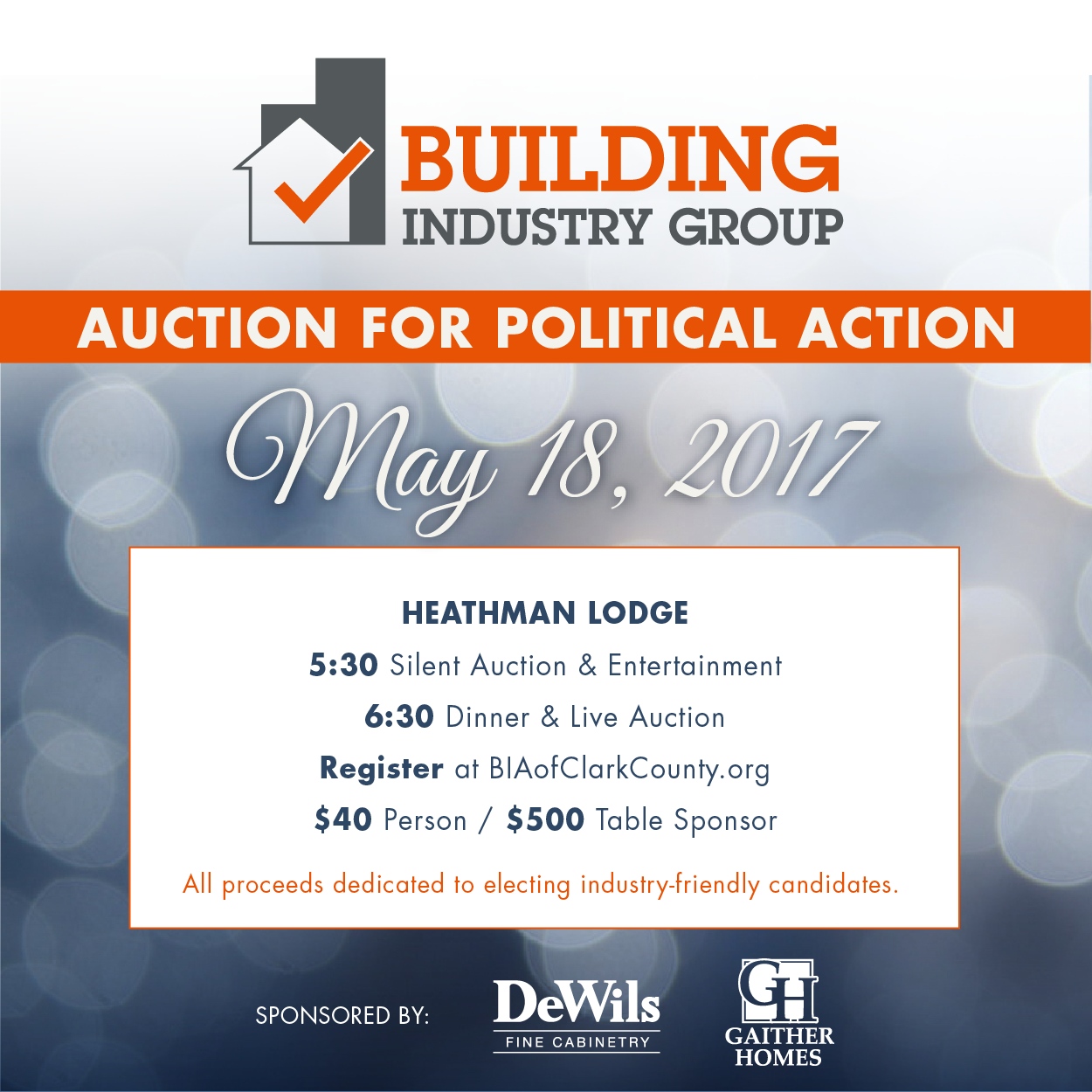 Auction for Political Action
