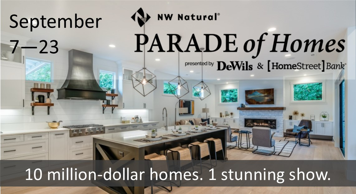 NW Natural Parade of Homes takes place Sept. 7-23