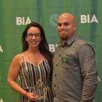 BIA President Aaron Marvin and Carrie McCampbell - Building Excellence Award for Residential Interior Design