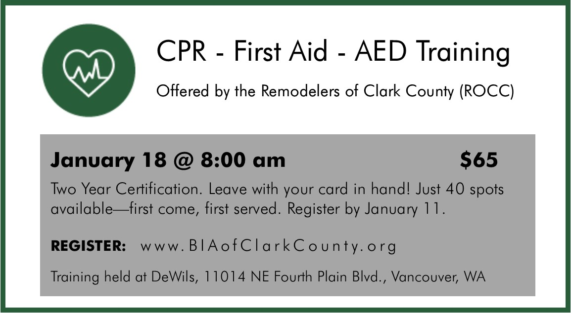 CPR - First Aid - AED